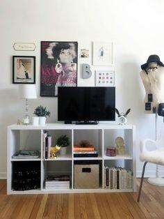 Галерея за телевизором: 24 удачных примера – Вдохновение