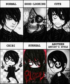 DeviantArt: More Collections Like Gift Art for Confuzzlation by DemiseMAN Creepy Drawings, Dark Drawings, Creepy Art, Cool Drawings, Creepy Pictures, Pictures To Draw, Emo Wallpaper, Emo Art, Emo Scene