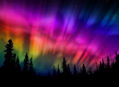 Pretty rainbows in the sky!