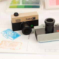 1 Sztuk Śliczne Piękny Korea DIY Drewniane Retro Camera Pieczątki uszczelnienie Dla Dzieci Śmieszne Zabawki 2 Modele 2 Kolory Dekoracji sygnet