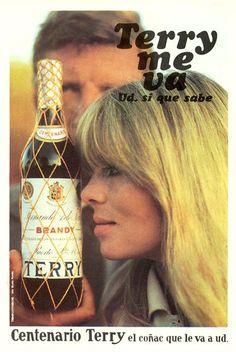Pre-Velvet Underground Nico in Spanish brandy advertisements, 1964 | Dangerous Minds