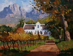 Roelof Rossouw Canvas Painting Projects, Canvas Art, Landscape Art, Landscape Paintings, African Paintings, South African Artists, Africa Art, Impressionist Art, Paintings I Love