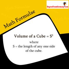 how to find the length of a cube with volume