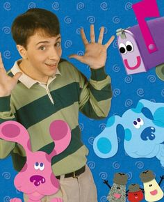 Blues clues<<<< I used to think Blue was a boy and Magenta was a girl but when I got older, I found out that I had the genders mixed. XD