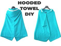 How to Make a Hooded Towel - Tutorial for ALL ages