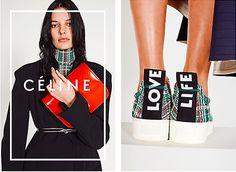 Céline Summer 2014 Ad Campaign by Juergen Teller