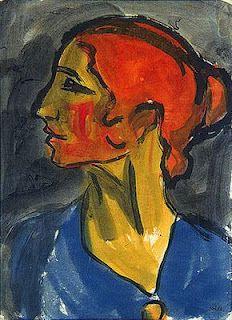 Emil Nolde (1867-1956) Aanvankelijk leerde Emil Nolde van 1884-1888 het vak van meubelontwerper en houtsnijder bij diverse meubelfabrieken. Als schilder was Emil Nolde nagenoeg autodidact. Hij kwam laat tot rijpheid en ontplooide zich pas tegen 1900 op vol artistiek vermogen. Dankzij zijn nieuwe manier van schilderen en zijn heftige kleurgebruik had hij veel invloed had op de jongere generatie schilders