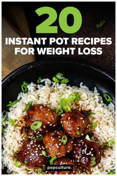 These 20 Instant Pot recipes pack a triple punch for busy families — their fast, they use one pot and the keep your waistline slim! So take a peek and get some inspiration to put that Instant Pot to work! #instantpot #instantpotrecipe #healthyinstantpot #diettip #healthyeating #fastdinner  #recipe #healthyrecipe #familydinner #easydinner #weightwatchers #WWP #dinnerideas #mealprep #mealplanning #weightloss