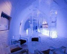 Hunderfossen Ice Hotel