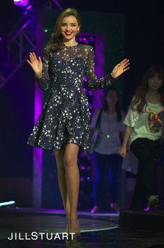 JILL STUART & MIRANDA KERR IN KOREA   2 DAY: KBS <개그콘서트>  * www.jillstuart.co.kr