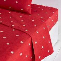 Flat sheet Double 240 x 290 to make an Emperor duvet cover out of! Image Edelweiss Printed Flannel Flat Sheet La Redoute Interieurs