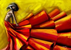 Red by Willy Gomez, via Behance