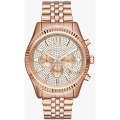 Michael Kors Michael Kors Lexington Pave Rose Gold-Tone Watch (306075 IQD) ❤ liked on Polyvore featuring men's fashion, men's jewelry, men's watches, michael kors mens watches, men's blue dial watches, stainless steel mens watches and mens chronograph watches Sale! Up to 75% OFF! Shop at Stylizio for women's and men's designer handbags, luxury sunglasses, watches, jewelry, purses, wallets, clothes, underwear
