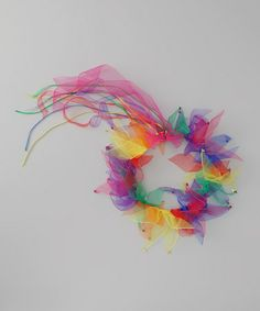 Take a look at this Rainbow Ribbon Halo by Bubblegum Diva on #zulily today!