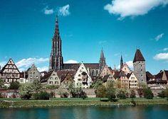 ulm+munster+pictures | Kirchturm der Welt (161 m) hat das Münster der alten Reichsstadt Ulm ...