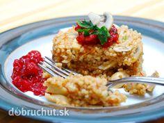 Fotorecept: Hubové krúpové rizoto s rajčinami