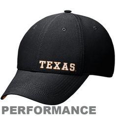 Nike Texas Longhorns Legacy 91 Dri-FIT 2012 Players Swoosh Flex Hat - Black