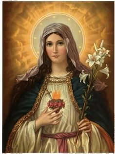THE SACRED and the IMMACULATE Hearts of JESUS and MARY