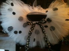 Dalmation Tutu for Ella
