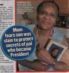 Report: Mother Of Obama's Murdered Gay Lover Speaks Up – With Video « Pat Dollard