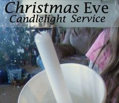 Have a candlelight service with just your family on Christmas eve.