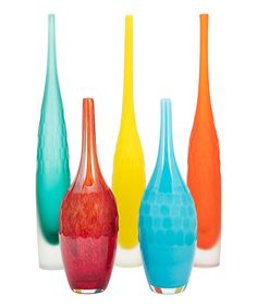 Another great find on #zulily! Kepla Glass Vase Set #zulilyfinds