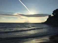 Portet Moraira, Celestial, Sunset, Beach, Water, Outdoor, Gripe Water, Outdoors, The Beach