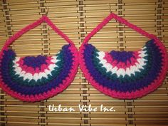 Urban Foxxy Roxxy Crochet Earrings Collection  by snchastang25, $15.00