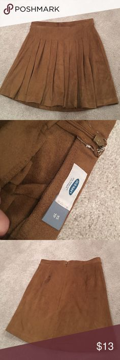 Suede skirt Perfect condition Old Navy Skirts Mini