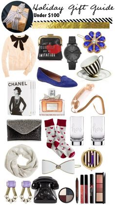 Holiday Gift Guide: Under $100 - Gal Meets Glam// and inspiration again