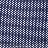 Happy Dots - Kiss Dot Navy Yardage - Michael Miller Fabrics - Michael Miller — Missouri Star Quilt Co.