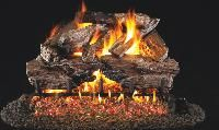 R. H. Peterson RealFyre Charred Cedar Vented Gas Log Set (CHCR)