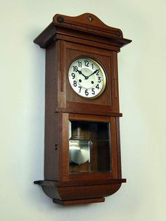 Image result for antique junghans wall clock