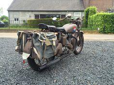Finally finished... Motorcycle Engine, Ariel, Ww2, Motorbikes, Baby Strollers, Engineering, British, Children, Baby Prams
