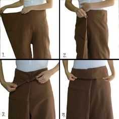 how to tie thai fisherman pants
