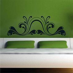 Vinilo decorativo especial cabecero de cama diseño Viscous. Masquevinilo.com