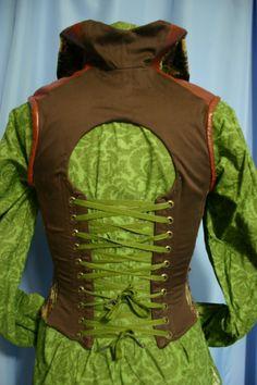 gentleman's corset. Pan inspired