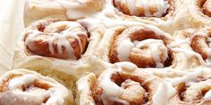 The Elegant Cook offers this easy approach to making cinnamon buns