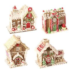 Clay Gingerbread House