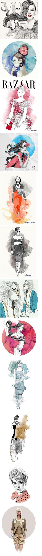 Fashion's Sketch - by Mustafa Soydan
