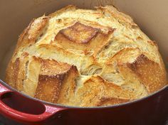 Easy cocotte bread with thermomix. Here is a recipe for Cocotte Bread, easy and quick to prepare at home with your thermomix. Dutch Oven Bread, Dutch Oven Recipes, Bread Recipes, Cooking Recipes, Dutch Ovens, Skillet Recipes, Graham Crackers, No Knead Bread, Yeast Bread