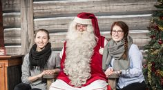 Christmas House Santa: meet the Official Santa Claus of the Arctic Circle in… Santa Claus Photos, Santa Pictures, Santa Claus Village, Meet Santa, Lapland Finland, Arctic Circle, Holiday, Christmas, House