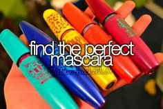 Bucket list... I think I already found it so this one doesn't really count unless by some miracle I find a better one.