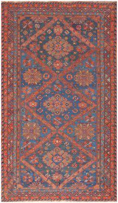 Caucasian Antique Soumak Rug 50361