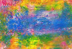 Original Acrylic Abstract Sunny View Painting Fine by rostudios, $39.95