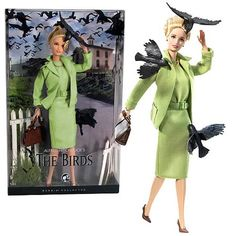 Barbie edition of Alfred Hitchcock's The Birds doll, in case you missed them, released in 2008