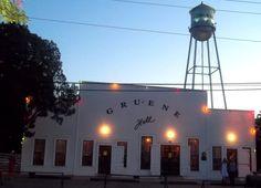 Gruene Hall, oldest dance hall in TX