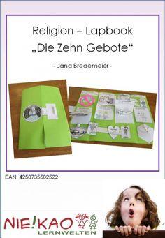 """Religion – Lapbook """"Die Zehn Gebote"""" Einzel-CD"""