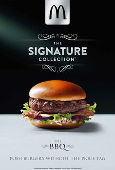 © Karen Thomas : 'The Signature Collection' - The BBQ | Karen Thomas | presented by GoSee Pizza Menu Design, Food Graphic Design, Food Menu Design, Food Poster Design, Web Design, Gourmet Burger, Restaurant Poster, Food Truck Festival, Bbq