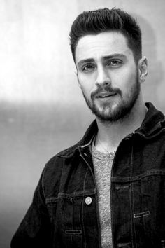 Aaron Taylor-Johnson at the 'Godzilla' Press Conference in 2014.